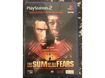 the sum of all fears Play station 2 ps2 spel