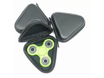 3st Bärbart fodral för Fidget Hand Spinner Triangle Finger Toy Bag Box Case