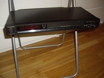 Technics ST 600 Am - Fm quartz synthesizer Stereo tuner - Helsingborg - Technics ST 600 Am - Fm quartz synthesizer Stereo tuner - Helsingborg