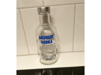 Absolut vodka miniflaska 20 cl samlarflaska ovanlig