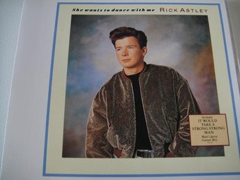 RICK ASTLEY She wants to dance with me CD MAXI TOPPSKICK!!!
