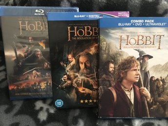 Hobbit-trilogin - Blu-Ray