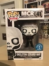 Funko Pop MCR My Chemical Romance Skeleton Gerard Way