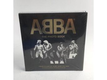 Abba, Fotobok, Abba, the photo book, Svart/Guldfärgad