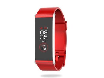 MyKronoz ZeFit 4 HR Activity tracker Red/Silver