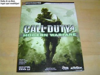 GUIDE CALL OF DUTY MODERN WARFARE PS2 & XBOX 360 *NYTT*
