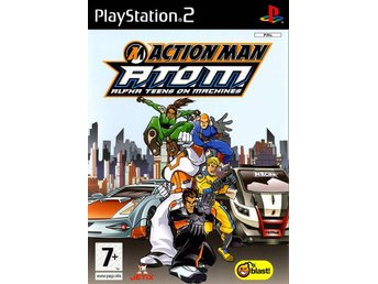 Action Man ATOM Alpha Teens on Machines - Playstation 2