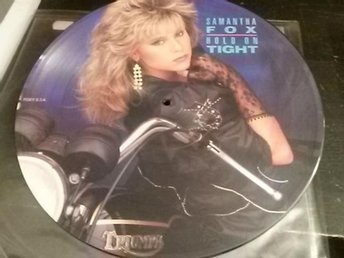 SAMANTHA FOX - Bildskiva Maxisingel - Hold on tight/Touch me/It´s only love-1986