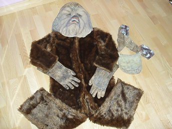 Maskerad Star Wars Chewbacca 5 del 120-135 cl Lucasfilm LTD