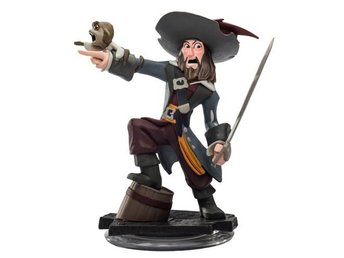 Figurer Wii PS4 PS3 PC Xbox 360 Disney Infinity Captain Barbossa