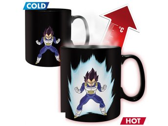 Mugg (Värmereagerande) - TV - Dragon Ball Z Vegeta (ABY208)