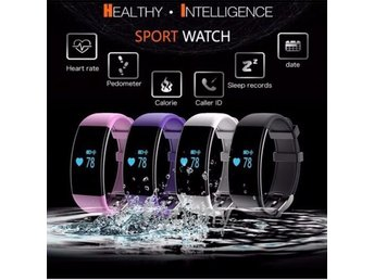 Smart Band Fitness Watch Rosa