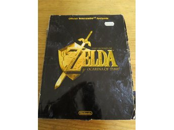 Officiel spelguide till The legend of Zelda ocarina of time svensk version