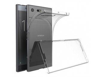 Xperia XZ1 Ultratunn TPU Skal Simple® Färg: Transparent