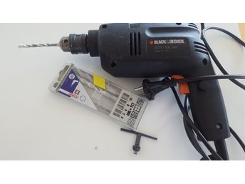 Borrmaskin, Black & Decker, BD551, 400 Watt