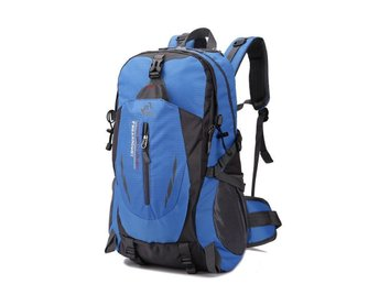40L Waterproof Sport Travel Backpack Outdoor Hiking Camping ryggsäck -blue