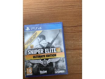 Sniper elite 3 ultimate edition  Playstation 4 nytt & inplastat