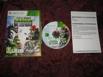 PLANTS VS ZOMBIES GARDEN WARFARE - XBOX360