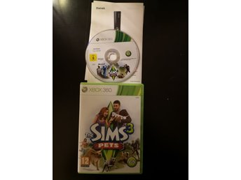 THE SIMS 3 pets xbox 360