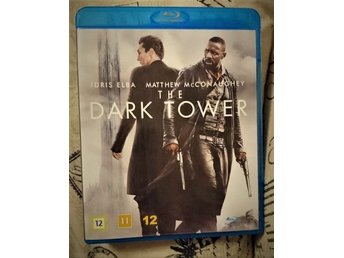 Blu-Ray DARK TOWER / Elba McConaughey/ Äventyr Fantasy / Stephen King FRI FRAKT