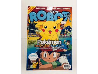 Robot Nr 1 / 2010 Pokemon Heart Gold / Soul Silver