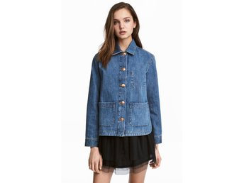 Divided workwear jeansjacka 38 h&m denim jacket