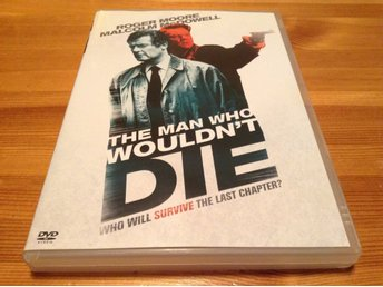 The man who wouldn't die - Roger Moore, Malcolm McDowell - Svensk utgåva - DVD