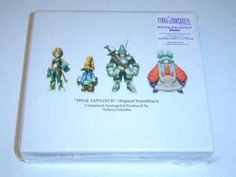 Final Fantasy 9 Original Soundtrack Musik *NYTT*