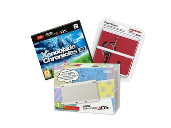 New Nintendo 3DS White - Xenoblade Bundle