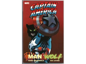 Captain America: Man & Wolf TP NM Ny Import