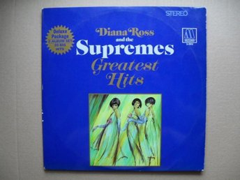Diana Ross and The Supremes - Greatest hits (2-LP) - Sundsvall - Diana Ross and The Supremes - Greatest hits (2-LP) - Sundsvall