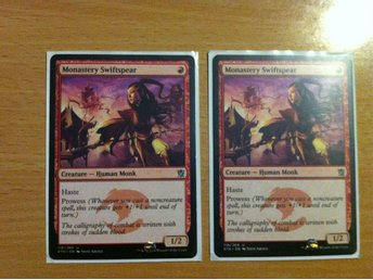 Magic the Gathering, MtG kort, Khans of Tarkir - Monastery Swiftspear NM