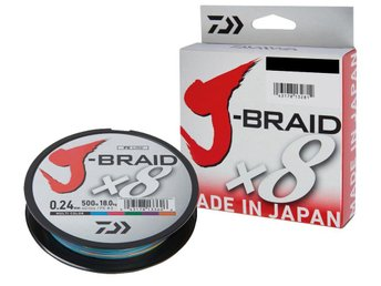 DAIWA J-Braid 150m Multi Color 0,20mm - *12755-020* - NEW 2016 - Bielsko-biala - DAIWA J-Braid 150m Multi Color 0,20mm - *12755-020* - NEW 2016 - Bielsko-biala
