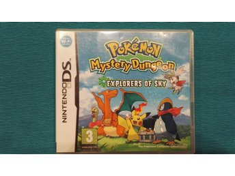 Pokemon Mystery Dungeon Explorers of sky Nintendo DS