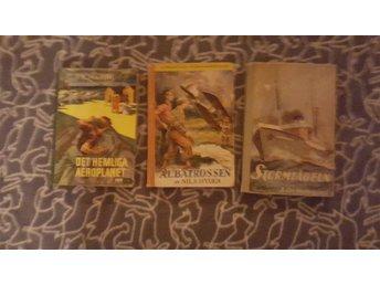 3 stycken jätte fina, välvårdade ungdomsböcker ifrån 30-40 talet - Dingle - 3 stycken jätte fina, välvårdade ungdomsböcker ifrån 30-40 talet - Dingle