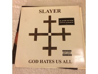 SLAYER God hates us all _ Röd vinyl _ Metallica, Megadeth, Kreator