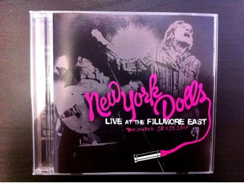 New York Dolls - Live At The Fillmore East