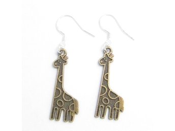 Giraff örhängen / Giraffe earrings
