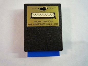 RS232 interface för C64 & C128
