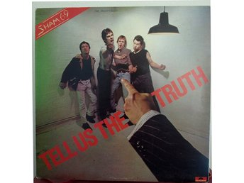 LP. SHAM 69 - TELL US THE TRUTH. UK. Spelar kanonfint.