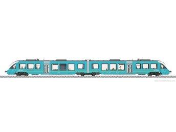 Javascript är inaktiverat. - Sandviken - Transport diesel railcar LINT 41 i järnvägsbolaget privata Arriva Danmark A / S Version med låg plattform. Nuvarande driftstillstånd. Med digital-dekoder mfx och omfattande ljudfunktioner. Kontrollerad högeffektsdrivning. Hög effekt moto - Sandviken