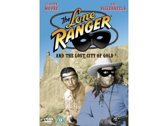 The Lone Ranger & The Lost City Of Gold, som ny, ej Svensk text