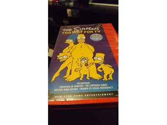 VHS - Simpsons - Too Hot For TV.