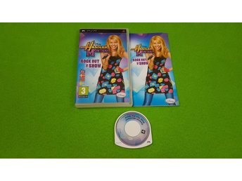 Hannah Montana Rock Out The Show SVENSK UTGÅVA PSP Playstation Portable