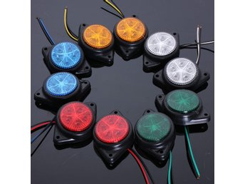 Side Marker LED Lights Indicator Lamps For Van Car Truck ...