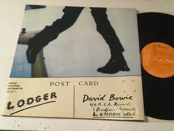 DAVID BOWIE lodger LP -79 UK RCA BOW LP-1