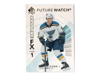 17-18 SP Authentic Spectrum FX Future Watch Bounty Vince Dunn