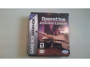 Game Boy Advance Operation Armored Liberty