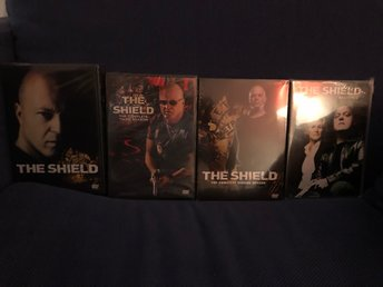The Shield obruten DVD S1-S4