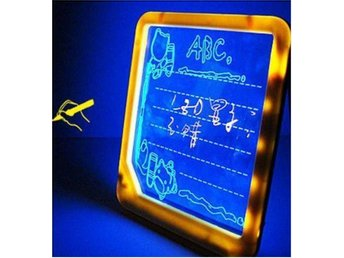 NY! Led Illuminate message board Writing Sign Display Light